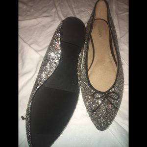 Old Navy Sparkly Flats (New)